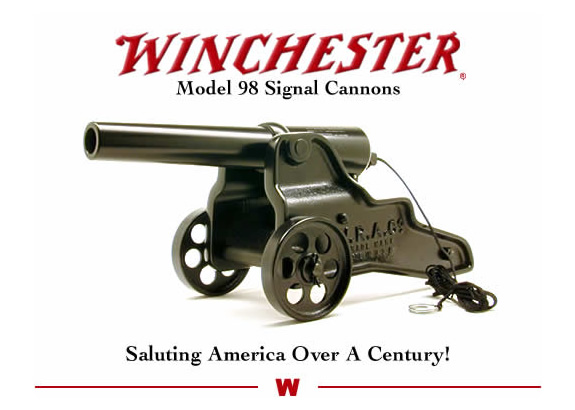 Winchester Signal Cannons